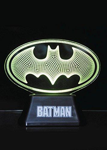 6333a95623816 DC Comics Acrylic Table Light Batman Edge Logo 18 cm Groovy Decoration