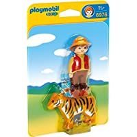 Playmobil 6976 1.2.3 Gamekeeper with Tiger