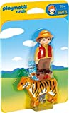Playmobil 1.2.3. - 6976 - Gamekeeper avec tigre