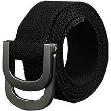 Fairwin cinturón táctico, nailon Riggers para cinchas de estilo militar cinturón con hebilla de metal para táctico Casual outsoors senderismo…