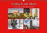 Volkach am Main (Wandkalender 2019 DIN A3 quer) -