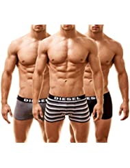 Diesel Hommes Lot de 3 Boxers Shawn All Over