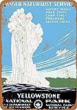 KODY HYDE Metall Poster - Yellowstone National Park -