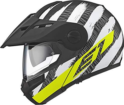 SCHUBERTH E1Hunter giallo moto casco