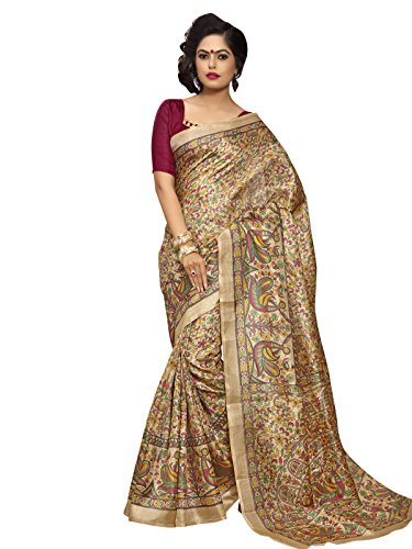 Kanchnar Cotton Silk Saree (171S8402C_Beige And Maroon)