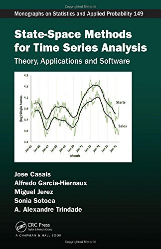 Portada del libro State-Space Methods for Time Series Analysis: Theory, Applications and Software (Chapman & Hall/CRC Monographs on Statistics & Applied Probability) by Jose Casals (2016-03-16)