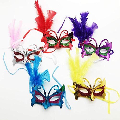 Wohlstand Maske,Maskerade Kostüm Maske, für Männer Frauen Party Ball Halloweenmaske Maskerade Maske Phantom der Oper Maske Maskenball Maske Kostüme Karneval DIY Handgemacht Party