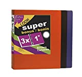 Vinyle 1inch Binder, O Round Bague Extra Strong Long Lasting Durable Binders, 3Colors By Kleer vu