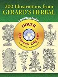 200 Illustrations From Gerard's Herbal