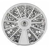 180 Stück Strasssteine kristall klar Glitzersteine Nagel-Kunst Rhine Scheibe Dekoration