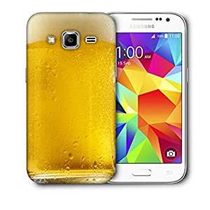 Snoogg Beer Glass Designer Protective Back Case Cover For Samsung Galaxy Core Prime