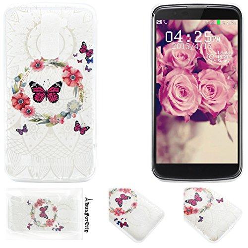 LG K10 Funda Trasera HuaForCity® Suave TPU Caso Cubierta Trasera Back Case Cover Funda Protectora Cajas de Telefóno Carcasas Bumpers Shell para LG
