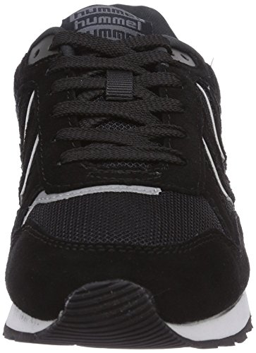 Hummel Hummel Marathona, Baskets Basses mixte adulte Noir - Noir