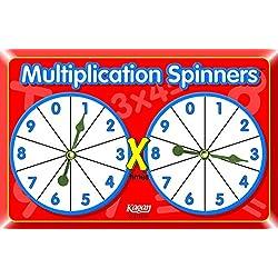 Kagan kooperatives lernen Spinner: Multiplikation, Material (MSM)