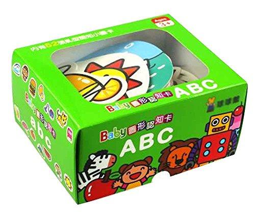 50 PC-Bild Worte Flash Cards Englisch Alphabet Flash Cards chinesische Ausgabe (Baby-flash-karten Worte)