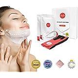ChinUp MASK - Máscara Para Reducir La Papada De Forma Efectiva Y Rápida - Estiramiento Facial Sin Cirugía - Resultados Eficaces En 30 Minutos Para Reafirmar La Piel De La Cara - Pack De Prueba