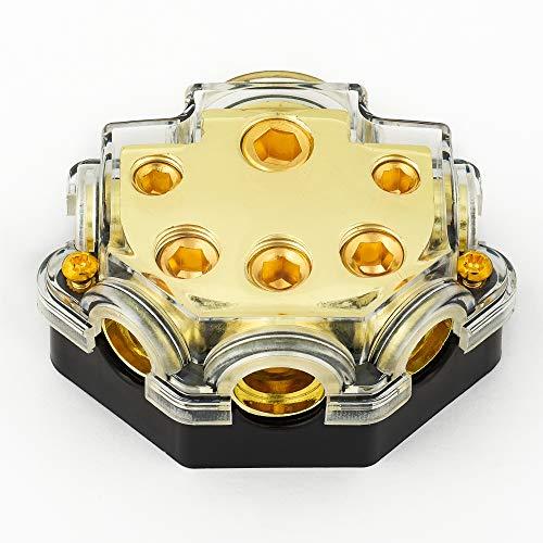 Auto Audio FUSE BOX Verstärker 5-Wege-Stromverteiler Block Sicherungshalter Fuse Block-box