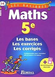 PACK BASIQUES 5E FRANCAIS/MATHS    (Ancienne Edition)