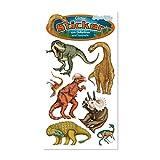 1 Bogen * T-REX & DINOS * Glitter-Sticker / Glitzer-Sticker von Lutz Mauder // 72285 // Sticker Glitter Tattoo Glittersticker Kinder Kindergeburtstag Geburtstag Mitgebsel Geschenk Basteln Aufkleber