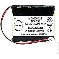 NX - Batería NiMH 5x AAA 5S1P ST1 6V 700mAh
