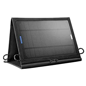 Anker 8W Tragbares Faltbares Solar Ladegerät Panel Solar Charger mit PowerIQ Technologie für 5V USB-Lade-Devices, GPS, iPhone, iPad, Android Phones und Android Tablets