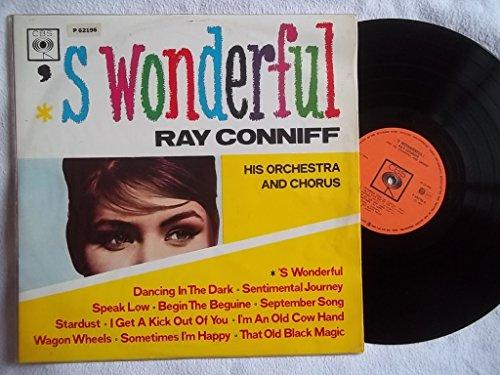 RAY CONNIFF 'S Wonderful vinyl LP