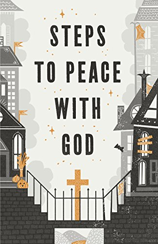 Halloween Steps to Peace with God (Pack of 25)