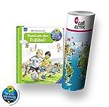 Wieso? Weshalb? Warum? Ravensburger Buch 4-7 Jahre | Rund um Den Fußball + Kinder Weltkarte
