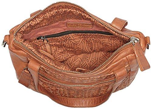 Liebeskind Berlin Damen Paria Multpo Schultertasche, 13x23x33 cm Braun (Cherokee Orange)