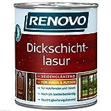 2,5 Liter RENOVO Dickschichtlasur EBENHOLZ