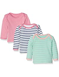 Care Baby Girl's Long Sleeve Top, Pack of 3