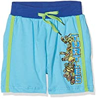 Nickelodeon Boy's Tortues Ni Shorts, Blue, 3-4 Years (Manufacturer Size:4 Years)