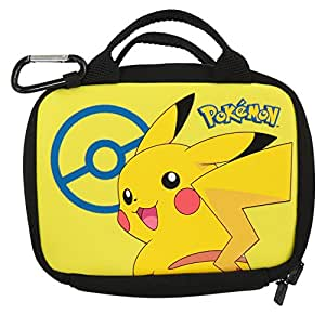 Pikachu multi pouch new 3ds xl 2ds tasche games for Housse 2ds xl pokemon