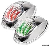 OSCULATI 11.039.21 Luci di Via Evoled con Sorgente Luminosa a LED a Basso Consumo, Inox Lucido