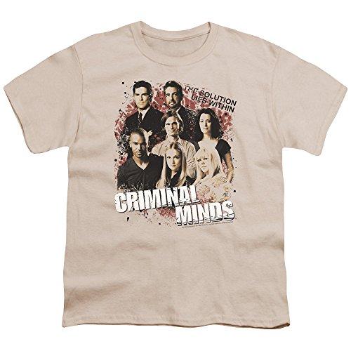 Criminal Minds TV Show CBS Solution Lies Within Big Boys T-Shirt Tee