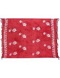 Beste Auswahl Großer Premium Sarong Pareo Wickelrock Strandtuch Schal Handtuch Wickelrock