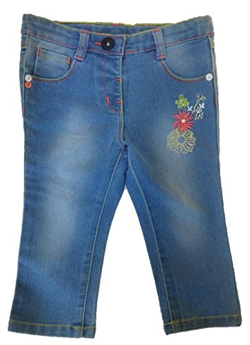 MAX.O Stretchable Soft Jeans for Baby Girls  available at amazon for Rs.299