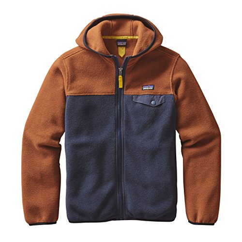 patagonia-lightweight-synch-snap-t-giacca-bambino-marrone-blu-2016-giacca-sport-marrone-large