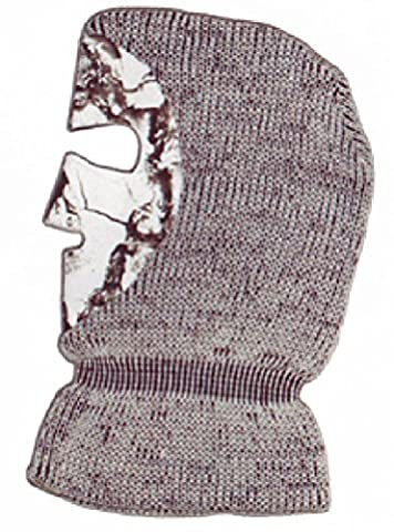 Natural Gear Snow Knit Facemask Snow Camo Osfa by Natural Gear