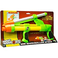 Buzz Bee Toys Air Warriors Mini Marshmallow Attack Blaster by Buzz Bee