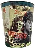 Harry Potter und die Heiligtümer des Todes 10L Metall Papierkorb Mülleimer blau