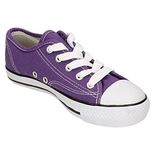 Spot On , Baskets mode pour fille Violet - violet