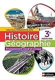 Histoire-Géographie-EMC 3e Prépa-pro