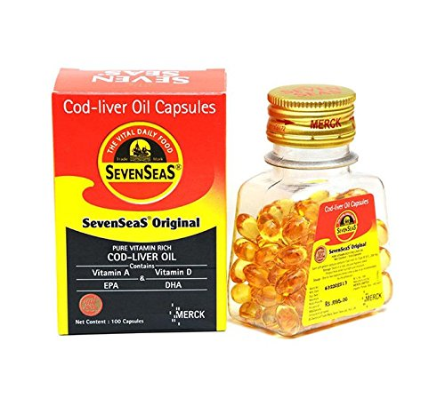 Seven Seas Original Cod Liver Oil Capsules - 100 capsules