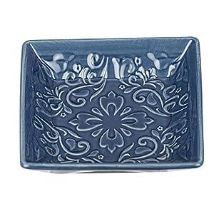 Wenko Cordoba-Jabonera, Color Azul, cerámica, 10.5 x 10.5 x 2.5 cm