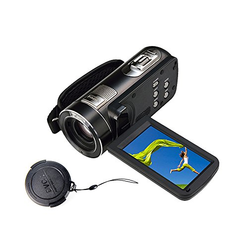 "51DNlKgdDDL - BEST BUY #1 PowerLead Puto PLD009 2.7"" LCD Screen Digital Video Camcorder Night Vision 24MP Camera HD Digital Camera Reviews and price compare uk"