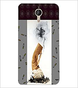 PrintDhaba Smoking Kills D-3276 Back Case Cover for LETV LE 1 PRO ULTRA (Multi-Coloured)