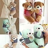 3 Couleurs Dessin Animé Ours Porte-Rideau Nursery Chambre Rideau Boucle Attache-Crochet Crochet Attache Boucle De Pince 1pc