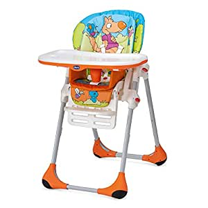 Chicco New Polly 2 in 1 Friends Wood Chair