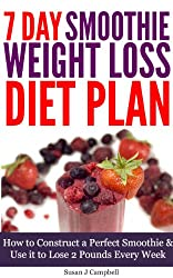 7 Day Smoothie Weight Loss Diet Plan - How to Construct a Perfect Smoothie & Use it to Lose 2 Pounds Every Week [Includes Smoothie Recipes] (English Edition)